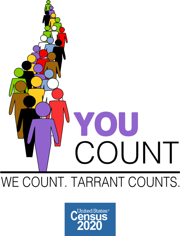 You Count Census2020-Tarrant-Logo-600x788