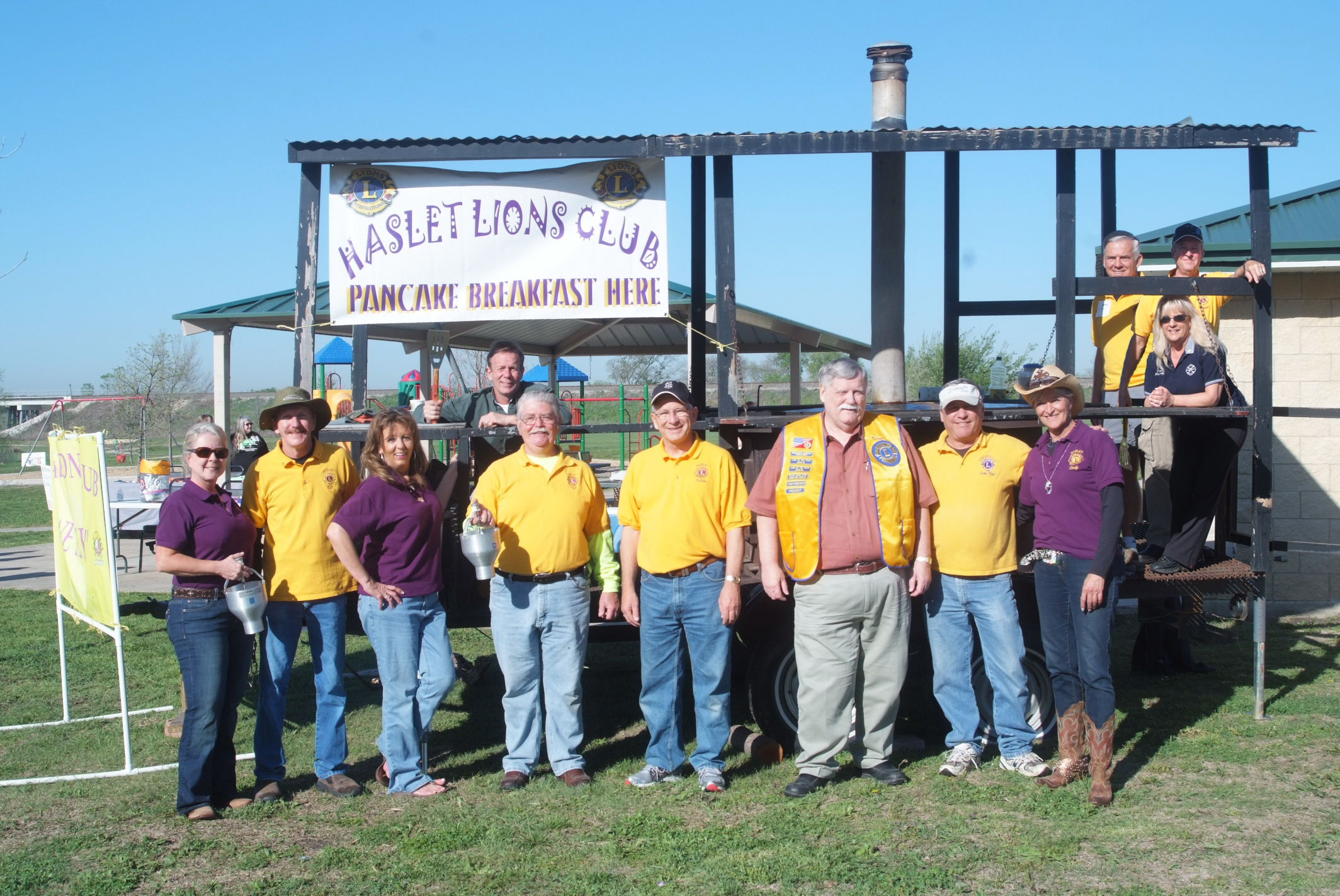 Haslet Lions Club