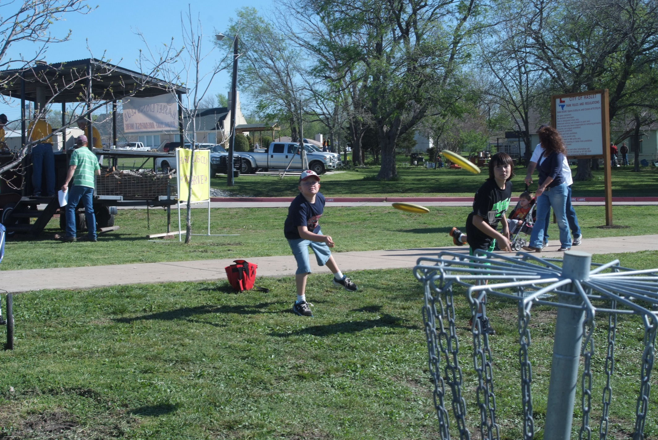 kids disc golf